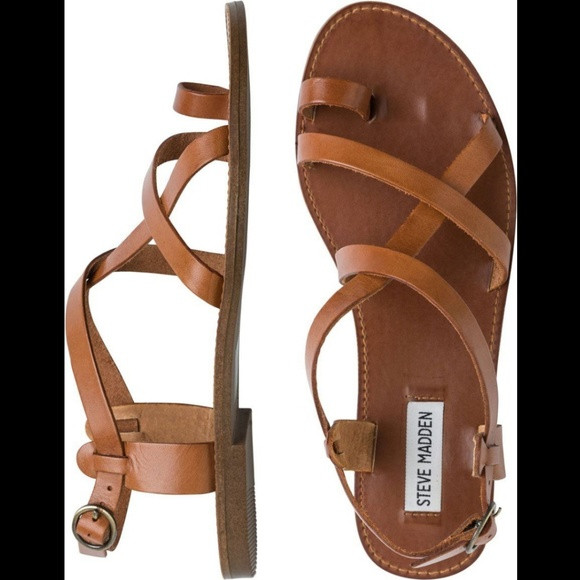 ff978c3109f Steve Madden Strappy Sandals- Agathist